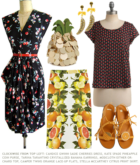 Fruit Prints in Spring 2011 Fashion