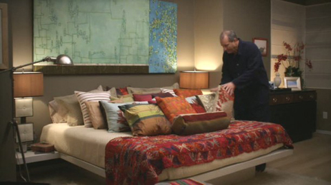 Modern Family Pillows : The Pritchett House on Modern Family Mojan Sami
