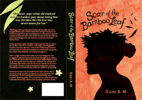 Scar of the Bamboo Leaf by Sieni A.M. Book Cover Design by Mojan Sami