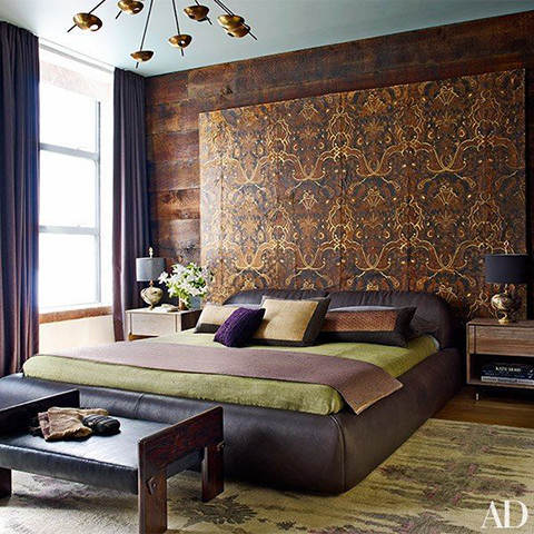 Chrissy Teigen and John Legend Manhattan Apartment Bedroom