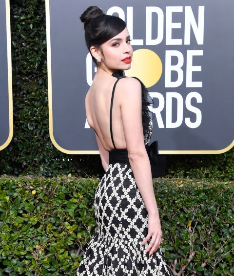 Golden Globe Awards 2019 Fashion: Sofia Carson